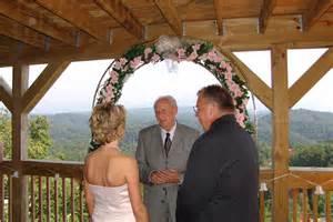 cabin wedding smokey mountain wedding cabin outdoor garden gazebo gatlinburg pigeon forge tn