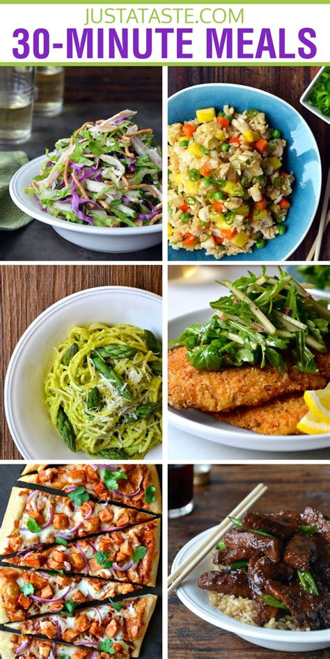 30 minutes meals or less 30 minute meals recipe delicious dinner recipes pinterest