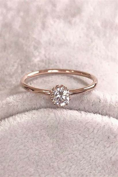 Rings Ring Engagement Rose Promise Diamond Mywebtrend