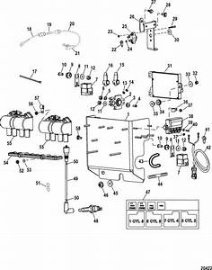 Mercruiser Race Engine  U0026 Drive 525 Efi Electrical
