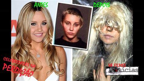 celebridades famosos viciados em drogas antes e depois youtube