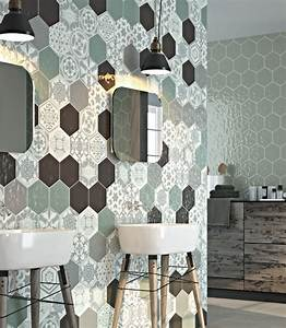 carrelage hexagonal mur et sol couleur montpellier b16 With carreaux de ciment exterieur 17 carrelage hexagonal blanc sol et mur parquet carrelage