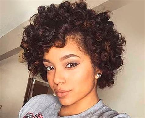 cute hairstyles for short natural african american hair