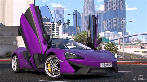 Mclaren 570s Modification by 2015 Mclaren 570s For Gta 5