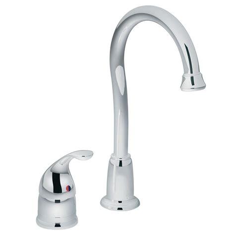 restaurant kitchen faucets moen camerist single handle bar faucet in chrome 4905