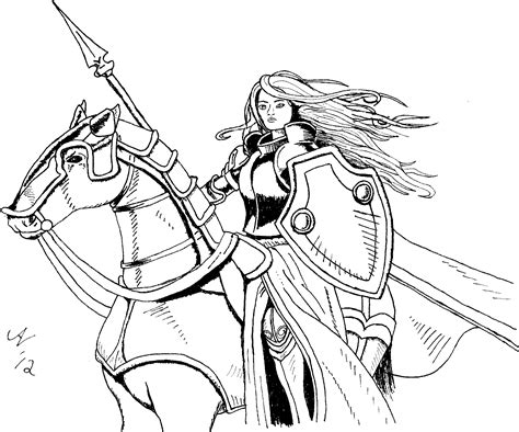 knight coloring pages coloringsuitecom