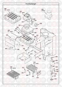 Main 24 He Heat Only  Heat Exchanger  Diagram