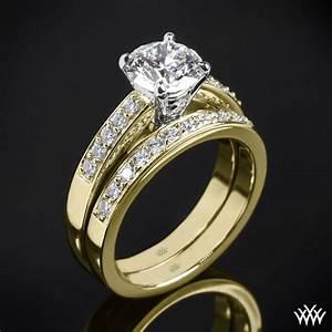 flush fit diamond wedding set 1769 With flush wedding rings