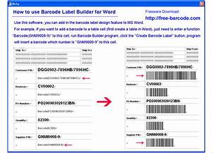 easiersoft barcode maker software barcode printer and With how to create barcodes in word