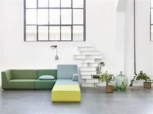 adoptez un meuble en couleur joli place With exceptional couleur pastel pour salon 12 le salon passe au vert joli place