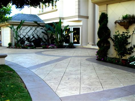 stamped concrete price
