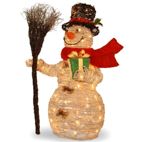 4 Ft Pre Lit Led Christmas Tree by Outdoor Light Up Snowman Holiday D 233 Cor Season Charm