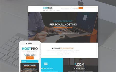 Template Web Flexível Para Sites De Hospedagem №58733