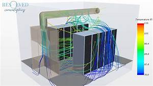 Cfd Simulation Of Air Flow In Data Center Server Room