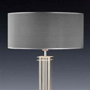 Lampenschirm 40 Cm Durchmesser : lampenschirm grau rund 50 x 20 cm online shop direkt vom hersteller ~ Bigdaddyawards.com Haus und Dekorationen