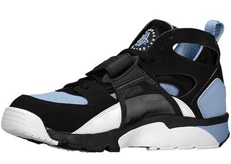 nike air trainer huarache 39 black cool blue 39 where to buy