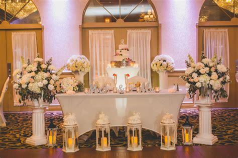 Nice Ideas for the Bride & Groom Reception Table Crystal