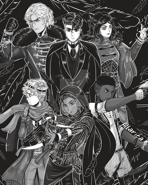 Inktober Six Of Crows By Allarica On Deviantart
