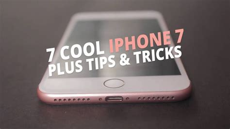 iphone 7 tricks 7 cool iphone 7 plus tips and tricks techhowto