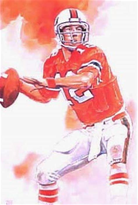 jim kelly university  miami hurricanes football player