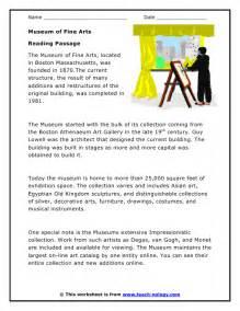 Printable Short Reading Passage Worksheets
