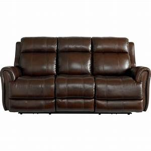 bassett leather sofa recliner infosofaco With leather sectional sofa bassett