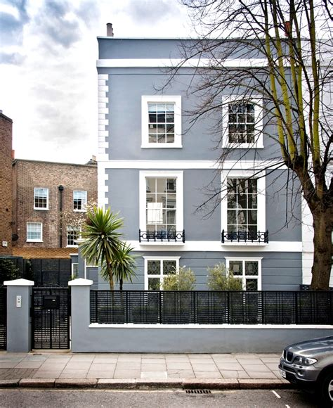 inside a london home full of luxurious layers exteriors