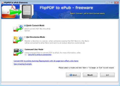 Flip Pdf To Epub  Freeware 28