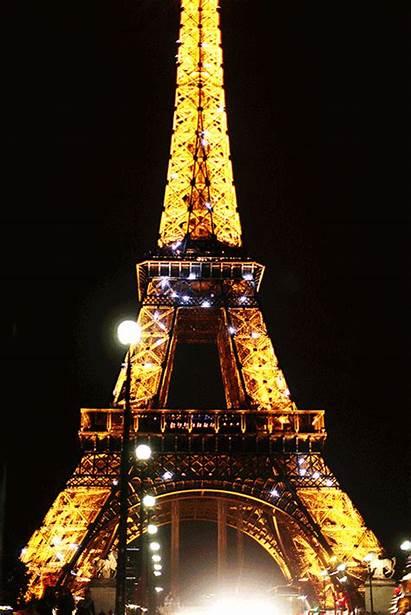 Eiffel Paris Tour Tower Fondos Lights Torre