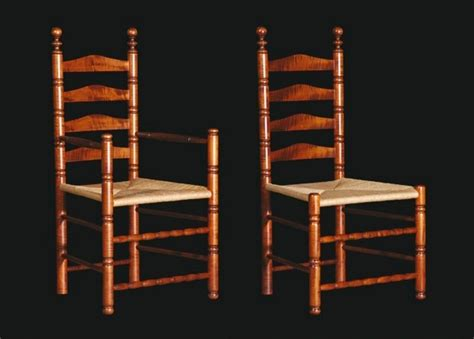 Ladder Back Arm Chairs With Seats by Ladderback Chairs