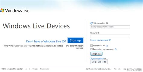 windows live id to get new sign in features in wave 4