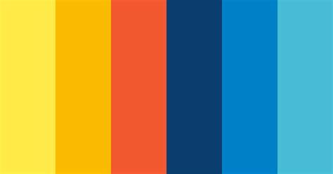 Retro Summer #2 Color Scheme » Blue » SchemeColor.com