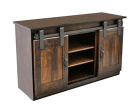 sliding barn door tv stand dutch craft furniture