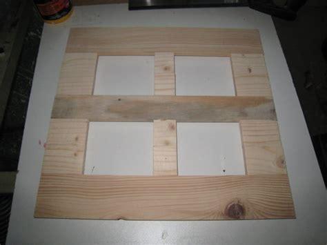 comment faire un cadre photo en bois fabriquer un cadre en bois cadre bleu 4 photos