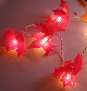 Guirlande Lumineuse Papier : guirlande lumineuse flocons rouges noel tete a modeler ~ Teatrodelosmanantiales.com Idées de Décoration