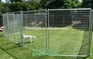 Large pet enclosure dog kennel run animal fencing sheep for Dog fence enclosure