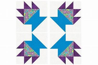 Cactus Quilt Pot Pattern Block Blocks Wickell