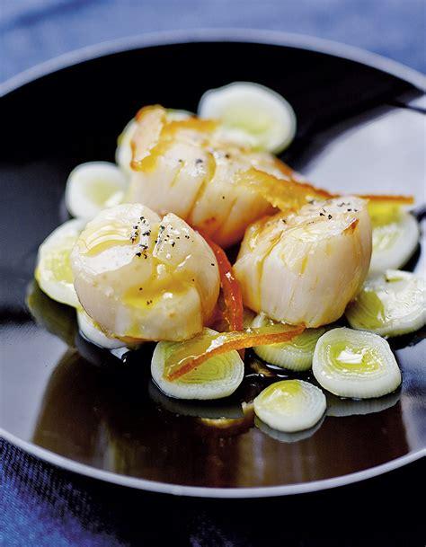 jacques cuisine jacques poêlées poireaux marmelade d 39 orange pour 4