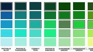 Magic Palette Colour Value Guide