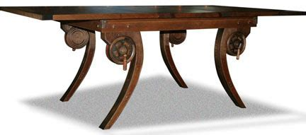 """Steampunk"" Dining Table   FineWoodworking"
