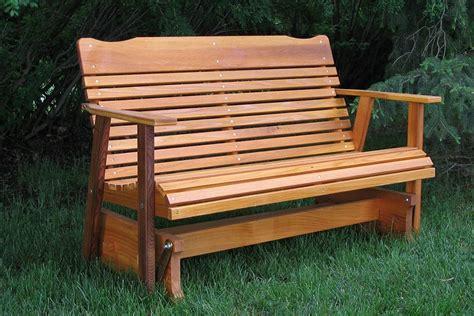 woodwork glider bench design  plans