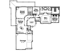 ranch home layouts best 25 l shaped house ideas on