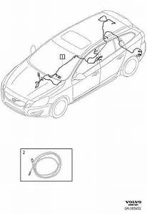 Volvo V60 Wiring Harness  Cable Harness Infotainment
