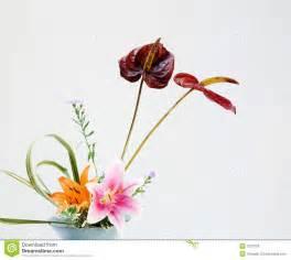 japanese style home plans flower arrangement stock photos image 3227603