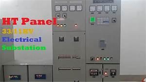 Ht Panel Installed  33  11kv  Inside An Electrical