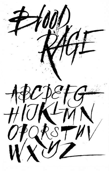 Image result for ralph steadman font cross stitch   Graffiti lettering fonts, Tattoo lettering