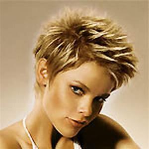 Coiffure Blonde Courte : coiffure courte blonde ~ Melissatoandfro.com Idées de Décoration