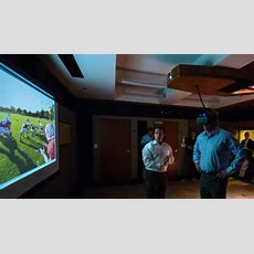 Nfl Commissioner Steps Into Virtual Reality At Stanford