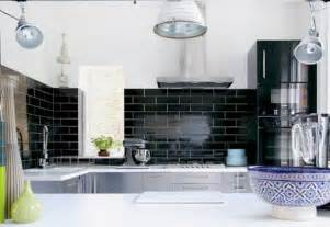 black subway tile kitchen backsplash 30 successful exles of how to add subway tiles in your kitchen freshome com