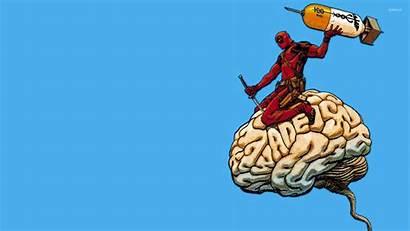 Deadpool Wallpapers Cerebro Comic 4k Comics Dead